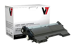 V7 TBK2TN450H Replacement High Yield Toner Cartridge for Brother TN450 (Black)