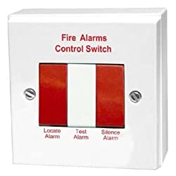 Aico EI1529RC Hardwired Smoke Alarm Remote Test, Hush & Locate Switch by Aico