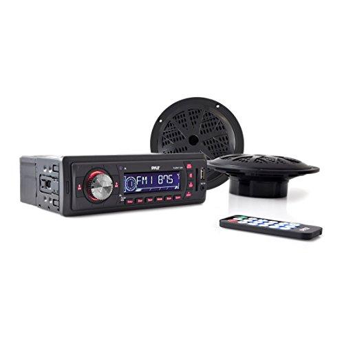 Pyle PLMRKT12BK In-Dash Marine AM/FM PLL Tuning Radio with USB/SD/MMC Reader (Subaru Impreza Type Ra compare prices)