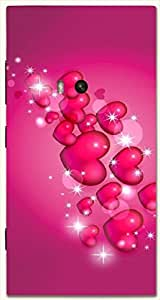 Beautiful multicolor printed protective REBEL mobile back cover for Nokia Lumia 920 D.No.N-L-14417-N920