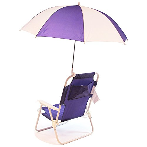 redmon outdoor baby kids beach chair with umbrella furniture furniture seating chairs. Black Bedroom Furniture Sets. Home Design Ideas
