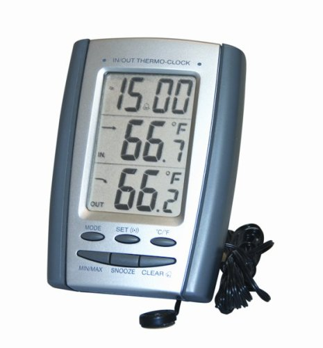 General Tools & Instruments Dt898P Indoor Outdoor Thermometer