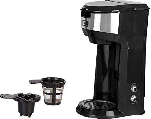 Tru CM-1177 Single Serve Brew System, Black
