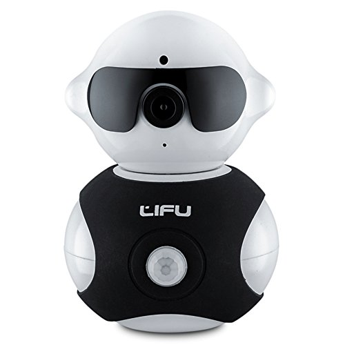 Wireless-IP-Camera-LiFu-Mini-Robot-Home-Security-Surveillance-HD-Pan-and-Tilt-WiFi-Camera-Built-In-Microphone-with-Night-Vision-for-Pet-Baby-Video-Monitoring