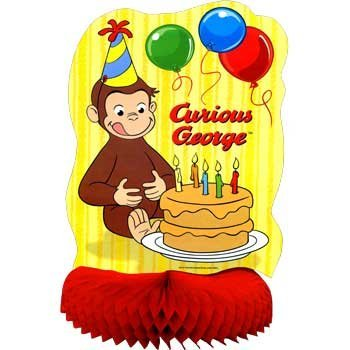 Curious George Table Centerpiece (sold individually)