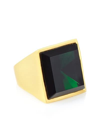 Kenneth Jay Lane Emerald Square Center Ring