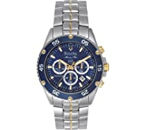 Men's watches special offers - Bulova Men's Marine Star Chronograph Watch #98H37 :  mens watch bulova