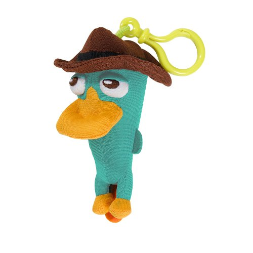 Phineas & Ferb Plush Clip ons - Agent P