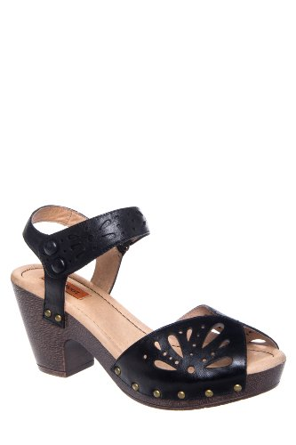 Harlene High Heel Cutout Clog Sandal