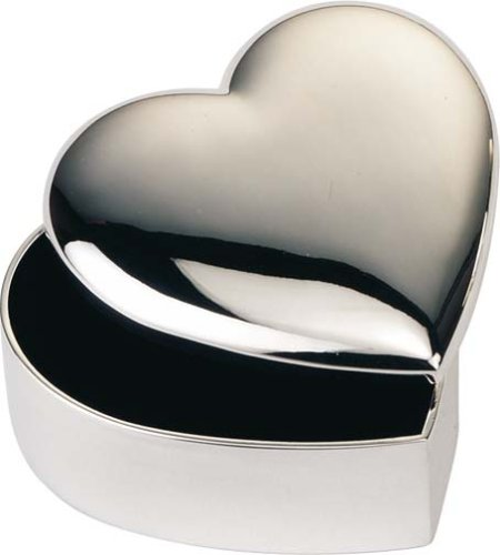 Personalised Engraved Heart Shaped Trinket Box Photo & Text Engraving Ideal Gift