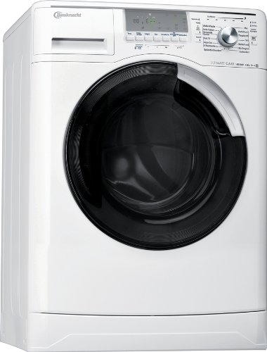 Bauknecht WA UNIQ 844 DA Waschmaschine Frontlader / A+++ A / 1400 UpM / 8 kg / Weiß / Ultimate Care / Big window / Vollwasserschutz
