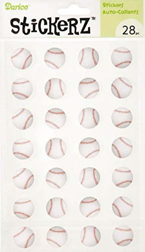 Stickerz - Baseballs - 28 pieces