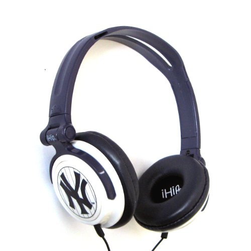 Mlb New York Yankees Ihip Slim Dj Headphones