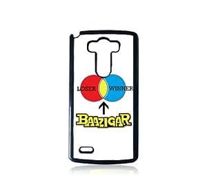 Krazycases Haar Ke Jeet Ne wale Ko Baazigar Kahte He! Back Shell Cover For LG G3