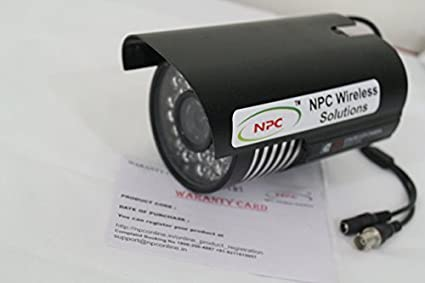 NPC 480TVL 48 LED Night Vison Weather Proof Bullet CCTV Camera