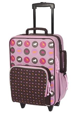 Lassig Trolley Savannah Girl, Pink, One Size