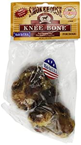 SMOKEHOUSE PET PRODUCTS 84056 2-Pack Beef Bone Treat for Dogs