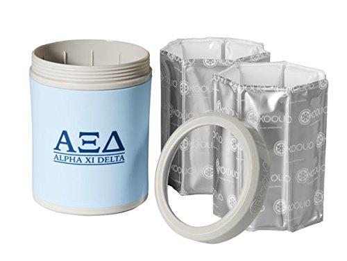 KOOLIO Premium Personal Beverage Cooler, Alpha Xi Delta