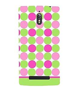 Dots Fashion Pattern 3D Hard Polycarbonate Designer Back Case Cover for Oppo Find 7