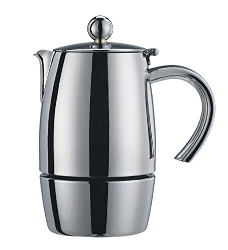 Cuisinox COF-L10 Liberta 10-Cup Espresso Coffeemaker