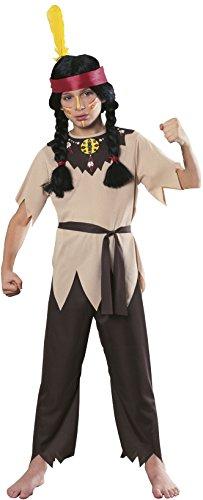 Rubies Native American Warrior Child's Costume, Medium