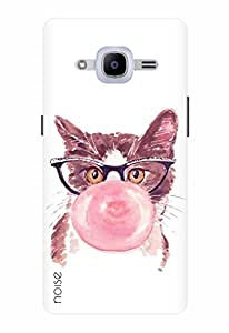 Noise Designer Printed Case / Cover for Samsung Galaxy J2 Pro - 6 (New 2016 Edition) / Patterns & Ethnic / Cat Design