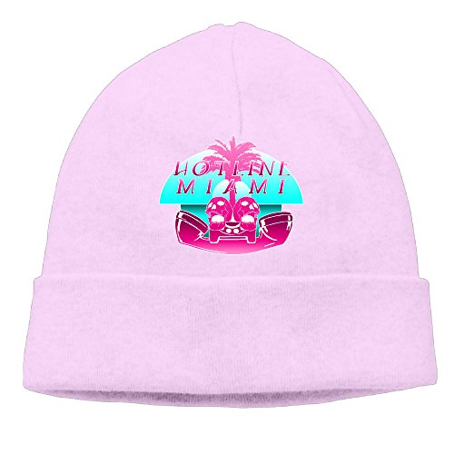 Fashion Hotline Miami 2: Wrong Number LOGO Pink Head Cap Skull Hat Hiphop For Unisex (Schoolhouse Rock Numbers compare prices)