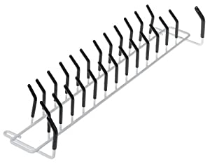 ClosetMaid Tie and Belt Rack, White #8051