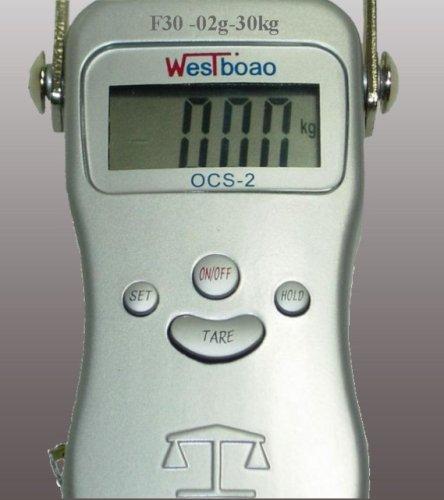 Précise Echelles Numériques Suspendue F30 / 30kg - 0,2g / Bébé LED Poissons