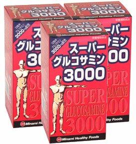 ミナミヘルシーフーズ ミナミヘルシーフーズ スーパーグルコサミン3000