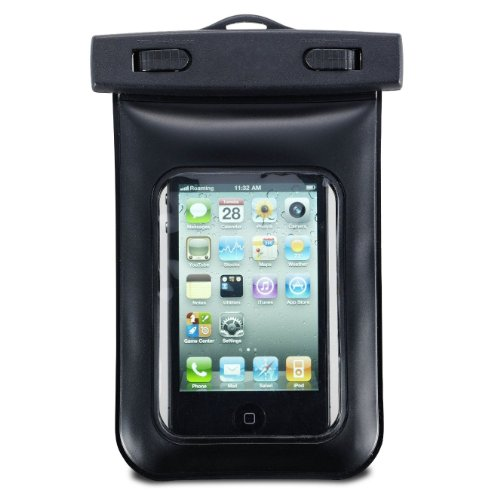 Axstyle 高品質 水深10M スタイリッシュ 防水ケース Waterproof case for iPhone4S,iPhone4,iPod,iPod touch,iPod nano,Xperia,Galaxy S ストラップ付属 オリジナルモデル
