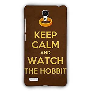 EYP LOTR Hobbit Back Cover Case for Xiaomi Redmi Note