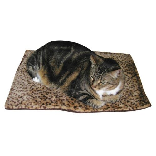 Slumber Pet Thermal Cat Mat, Beige, 22″x18.5″