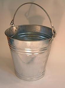 13 Litre Galvanised Bucket