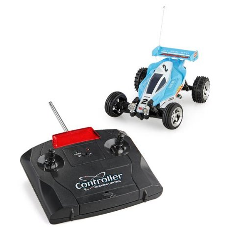 Mini 1:43 Rc Radio Remote Control Rtr Racing Car Kart Buggy Kid Gift Blue