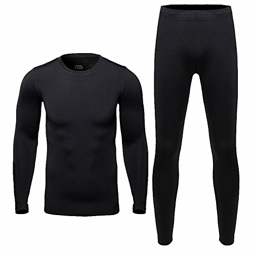 Maoko Mens Sports Cycling Running Fitness Clothes Set-Thermal Fleece Baselayer (Arctex Thermal Underwear compare prices)