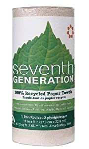 Seventh Generation Paper Towels, Natural, (30 Rolls)
