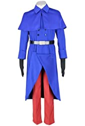 Hetalia: Axis Powers Cosplay Costume - France 1st XX-Small