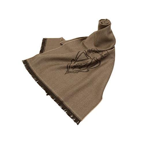 (グッチ) GUCCI バッグ BAG メンズ エンブレム ストール ブラウン ウール100% 3449934g2009764 アウトレット ブランド 並行輸入品