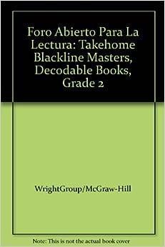 Foro Abierto Para La Lectura: Takehome Blackline Masters
