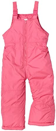 Carter's Girl's 2-6x ankle-length Bib Pants, Pink, 4T