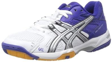 ASICS GEL-ROCKET Women's Indoor Court Shoes - 8 - Blue