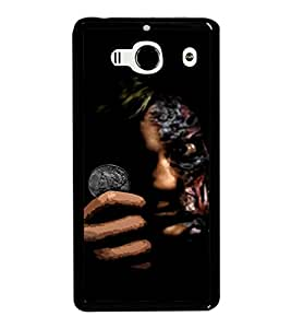 printtech Two Face Gotham Back Case Cover for Xiaomi Redmi 2S::Xiaomi Redmi 2::Xiaomi Redmi 2 Prime
