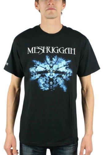 Meshuggah - Nothing Uomo T-Shirt In Nero, Size: X-Large, Color: Nero