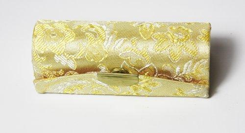 one-dorado-brocado-de-la-seda-pintalabios-funda-con-dorado-y-rosa-seda-bordado-espejo-interior-para-