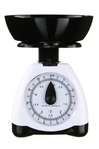 Premier Housewares Balance de cuisine Plastique Noir/blanc 5 kg