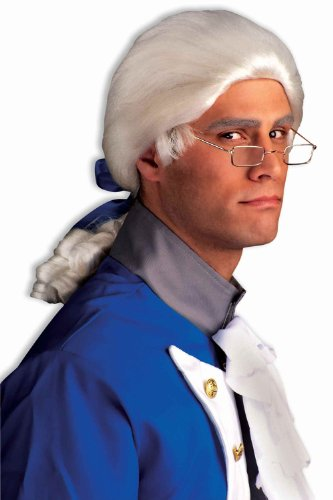 Historical Colonial Men's Wig Mens Colonial Costume Wig 65377