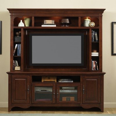 Cheap New Generation 75″ TV Stand in Traditional Cherry (640-TV00)