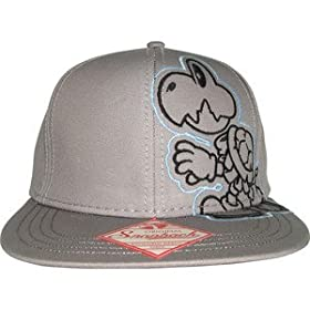 "Nintendo Dry Bones Mens Grey Snapback (Apparel) By Bioworld          Click for more info     Customer Rating:       First tagged ""nintendo"" by Elec"