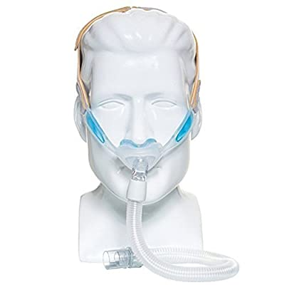 Philips Respironics 1105167 Nuance & Nuance Pro Nasal Pillow CPAP Mask with Gel Nasal Pillows, Nuance Pro Gel Frame (S, M, L Pillow Included) by Philips Respironics
